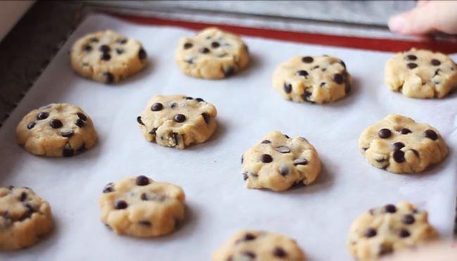 tạo hình bánh cookies