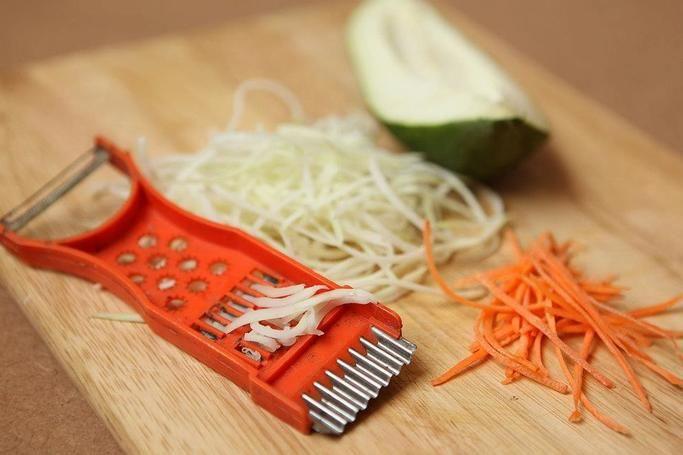 cà rốt thái sợi
