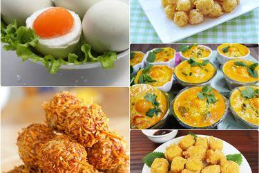 Cách ăn trứng muối: 3 món ngon với trứng muối không nên bỏ qua