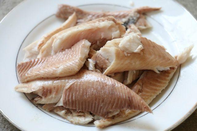 thịt cá lóc sau khi lọc xương