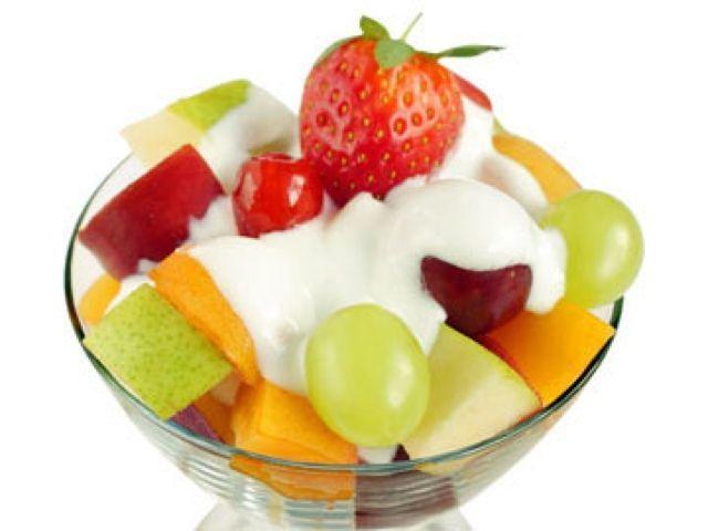 sữa chua nha đam trái cây