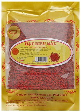 gói hạt điều đỏ