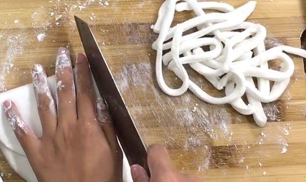 xắt sợi bánh canh