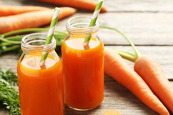 Nước ép cà rốt có tác dụng gì