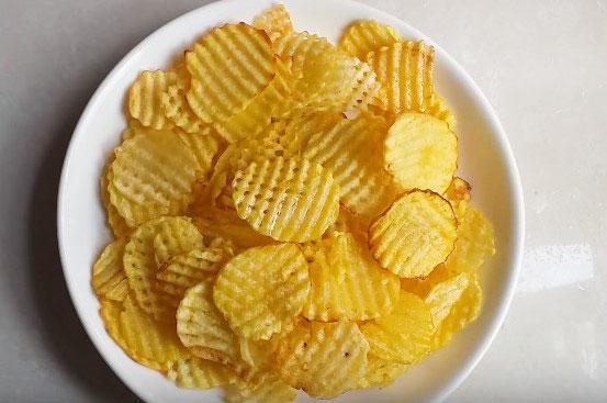 món bim bim khoai tây