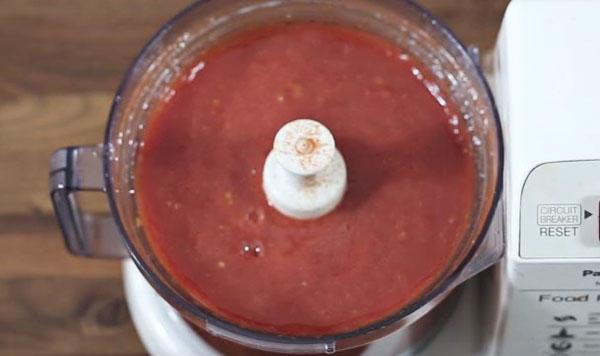 xay cà chua