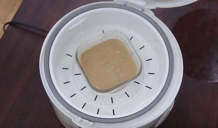 hấp cách thủy pate gan gà bằng nồi cơm điện