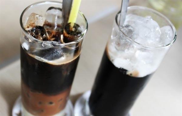ly cafe đen đá