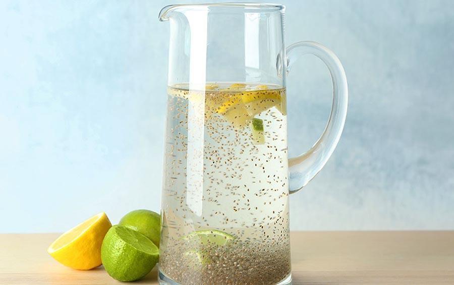 nước uống hạt chia