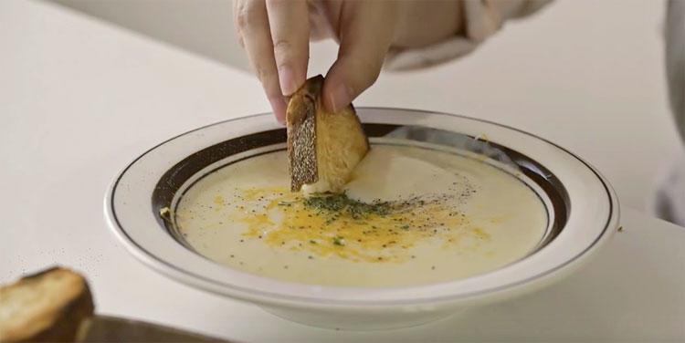 món súp khoai tây