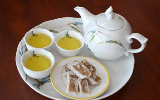 chè lam - trà xanh