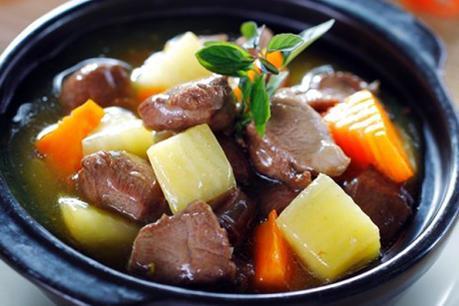 Thịt trâu hầm